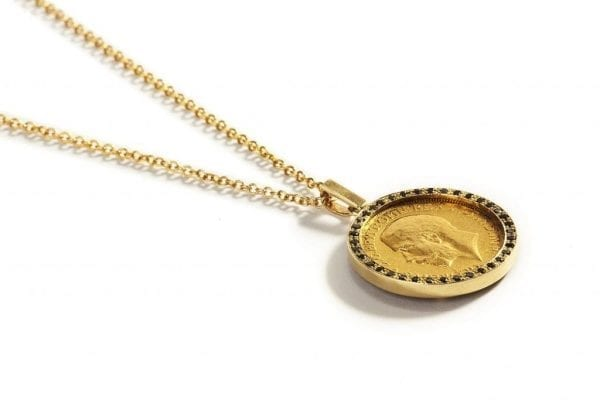 main coin necklace pic