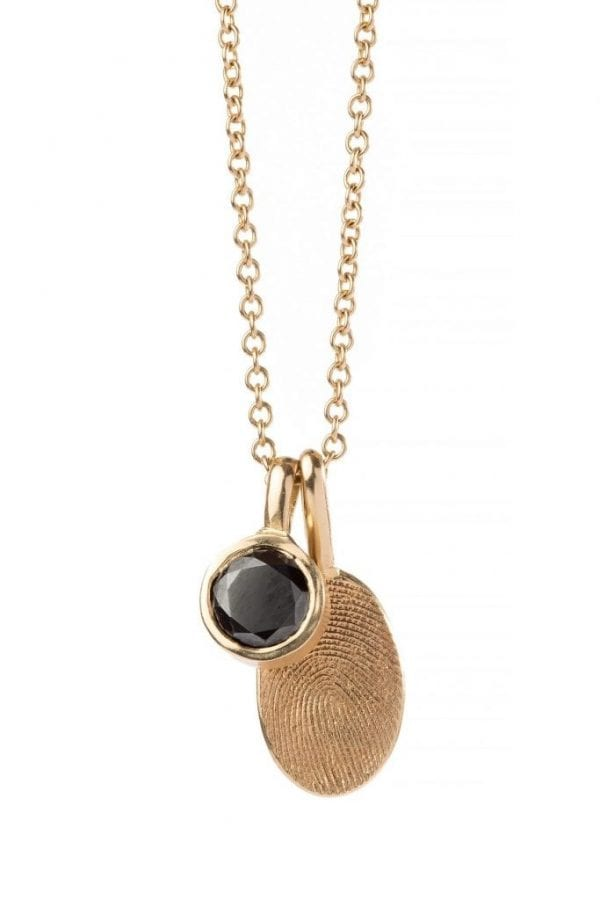 oval print necklace pic 3