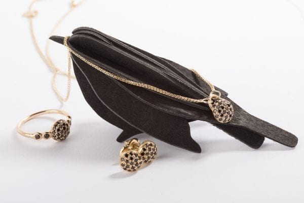 black diamond earring-3